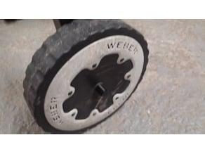 Weber Genesis Silver Axle Cap