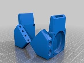 Fan mount for S.T.E.V.E carriage titan aero setup