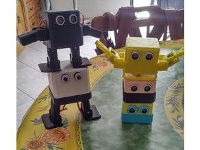 Otto Zero with ARMS ( NOVE )  - Robotics is fun!