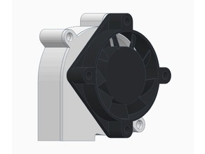 40mm Fan to 5015 Blower Adapter