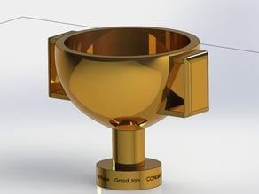 Trophy/ pencil holder/ trophy cup for true winners