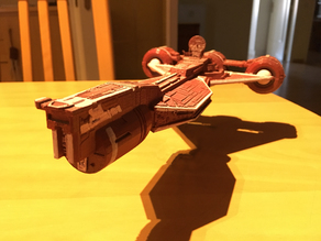 Republic Cruiser from Star Wars TPM