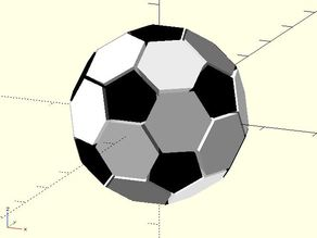 Soccer polyhedron