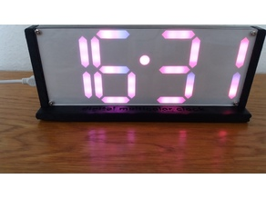Standard for Rainbowcollor clock from AlieExpress