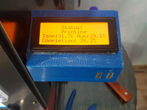 Octoprint printing monitor