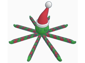 Flexi Christmas Octopus