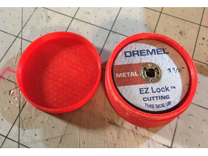 Dremel EZ Lock Cutoff wheel storage container