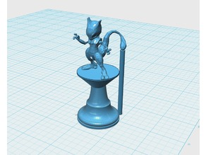 Mew & Mewtwo King/Queen Pieces for Pokemon Chess Set