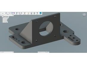 BLTouch mount for e3dv6 and Tevo Titan extruder V2