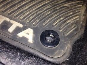 VW Floormat Clamp