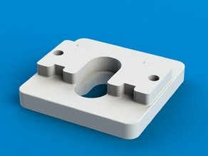 Hotend-mount for Sparkcube or other 50mm-mount