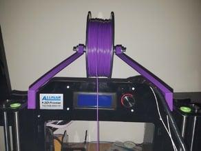 Filament Spool Mount For 8mm Frame