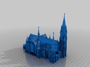 Gothic Church - German Design - AD 1900