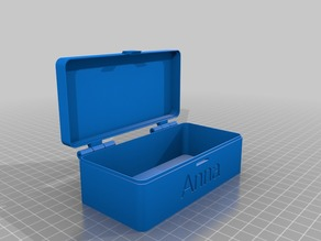 My Customized hinged box V2