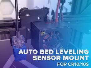 AUTO BED LEVELING SENSOR MOUNT FOR CR10/10S