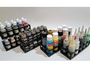 Paint Bottle Holders