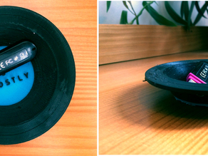 Vinyl Series - Bowl and Mats