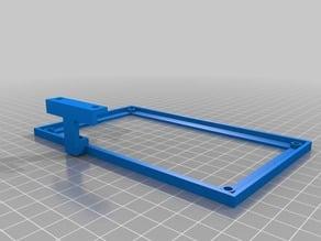 MKS Gen V 1.3 board frame with mount for external stepper