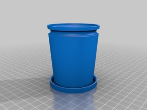 Bathroom trash cup
