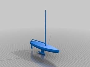 Pond Racer Model Sailboat