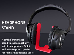Universal Headphone Stand