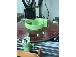 3d printer bed level adjustor