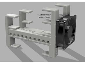 Ubiquiti UNIFI USG rack GEN2 with 80mm fan  (8-port, 60W PoE)
