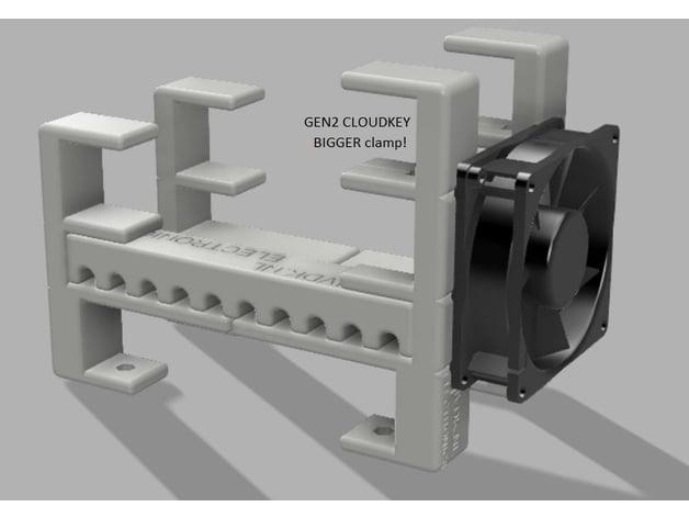 Ubiquiti UNIFI USG rack GEN2 with 80mm fan (8-port, 60W PoE) by