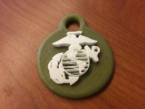 USMC Keychain
