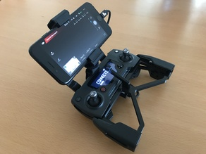 Lanyard strap buckle for mavic pro remote with Polarpro phone mount