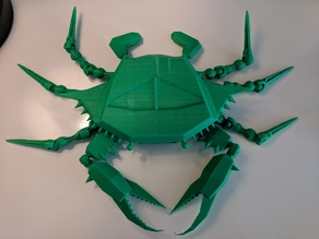 Blue Crab -Polygon -Articulated