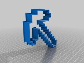 Minecraft_Pick_5in Cookie Cutter