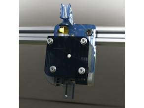 Titan Bowden extruder for front bar