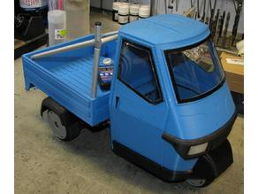 Ape Piaggio 50cc - static version
