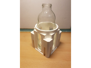 Milk bottle connectable multi Container