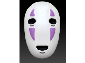 No-Face Mask from SpiritedAway (Wearable if Modified)