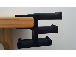 Shelve 4 headset holder, Adjustable size to fit any shelve.