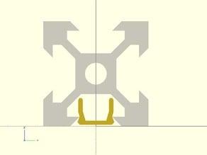 Remix of V-Slot cover for adjustable fit