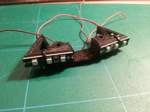 zmr 250 bottom plate spacers / led mounts (13mm)