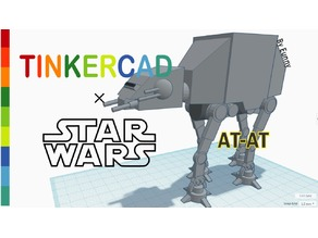 Simple AT-AT with Tinkercad