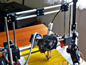 Z-Axis Double Rod Stabilizer for Printrbot