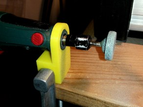Parkside rotary tool table mount