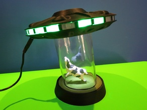 UFO Cow Abduction holder for 10mm LEDs