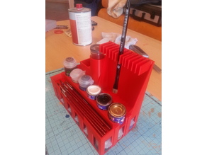Tabletop Paint Organizer