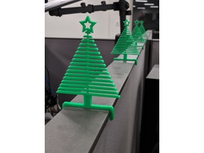 Flexy Christmas Tree for 50mm Cubicle Wall
