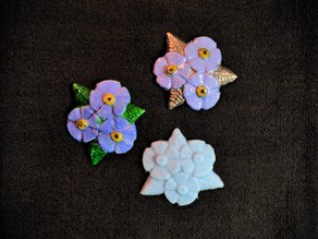 Forget-Me-Not Badge