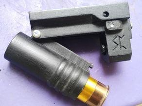 Hyrr, the airsoft pistol shotgun
