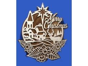 Merry Christmas - Plaque
