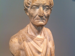 Marble Bust of a Priest