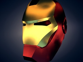 IronMan Helmet Lifesize Scale